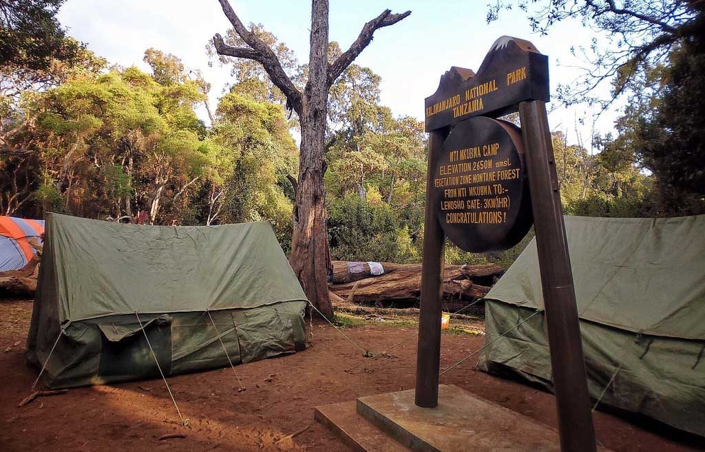 Mti Mkumbwa camp